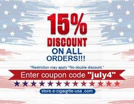 #159 pentru 4th Of july banner de către PixelDesign24