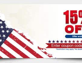 #178 pentru 4th Of july banner de către PixelDesign24