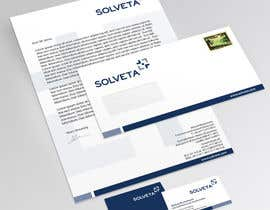 topcoder10 tarafından Letterhead, Envelopes, Business Cards and more for Solveta için no 75