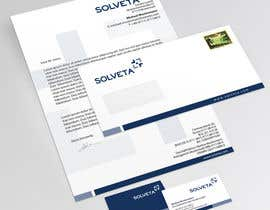 #67 untuk Letterhead, Envelopes, Business Cards and more for Solveta oleh topcoder10