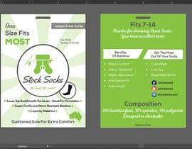 nº 8 pour Design a Hang Tag For Socks par akashsahaoo7
