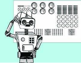 #11 untuk Robot scratching his head oleh icecad49
