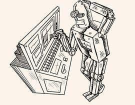 #19 untuk Robot scratching his head oleh mihaiGFX
