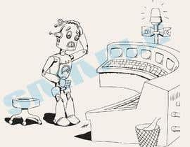#18 untuk Robot scratching his head oleh kevingitau