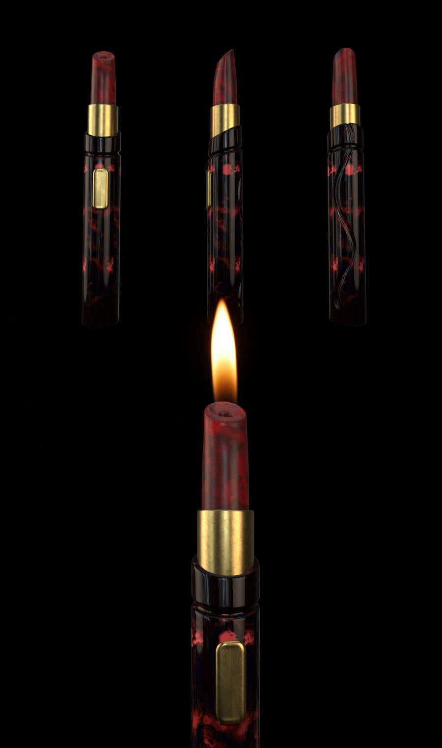 Penyertaan Peraduan #62 untuk I need the design of a product inspired by the picture (Same function but original design), which can be seen with this link: https://www.st-dupont.com/hk_en/lighters/candle-lighter.html