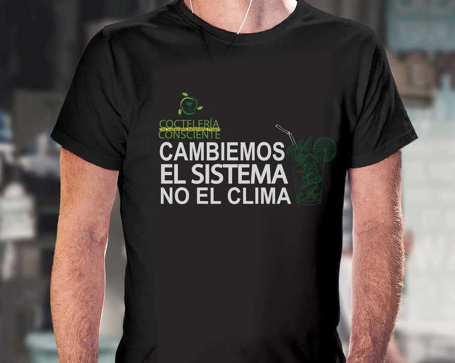 Bài tham dự cuộc thi #45 cho T-Shirt Design For Non-Profit @CocteleriaConsciente