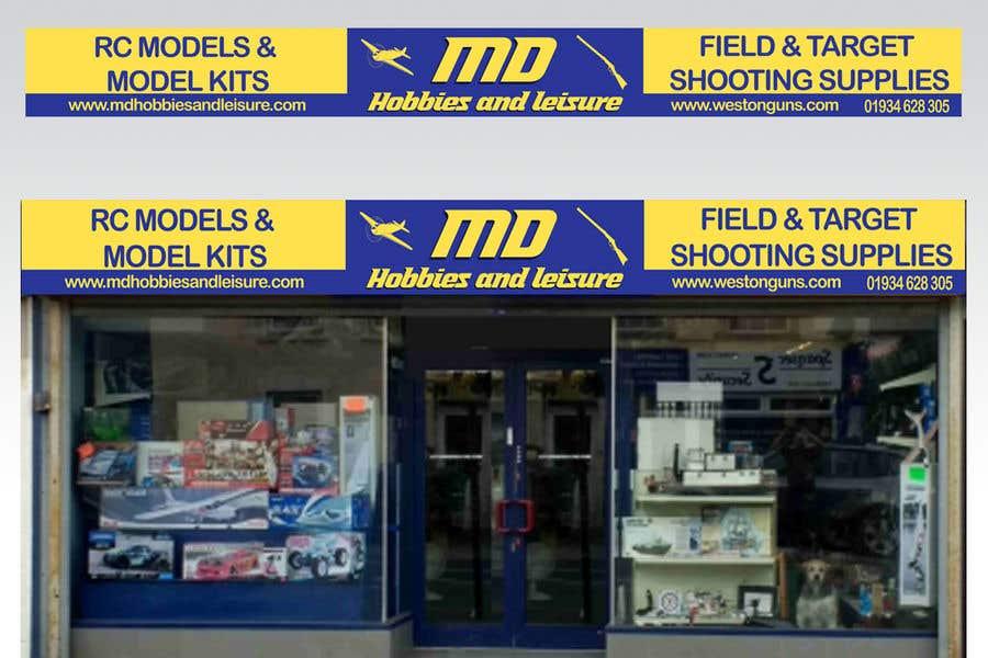 Конкурсная заявка №7 для Shop / storage front sign