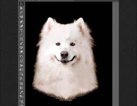 #5 for Vectorized Samoyed Dog Images - Graphic Design Project af garik09kots