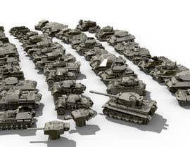 #32 для Render 3D tank files into metal texture от mohammaddsa55