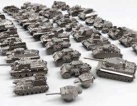 #37 для Render 3D tank files into metal texture от dennisDW