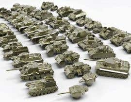 #39 для Render 3D tank files into metal texture от dennisDW