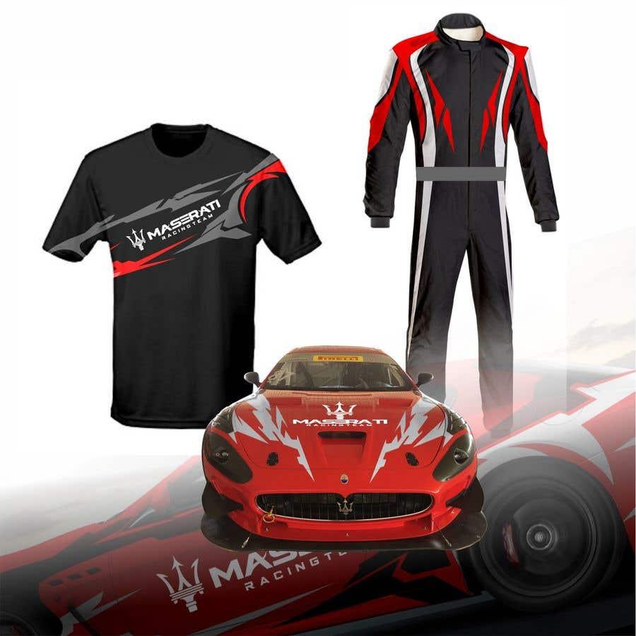 Kilpailutyö #46 kilpailussa Maserati Racing Team - Corporate Identity