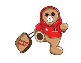 #51 za Traveling teddy bear logo design od binsonmp