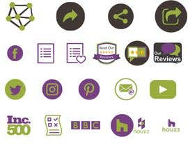 #38 for Custom Icon Set for Website by kmshakil44