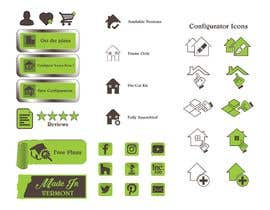 #40 for Custom Icon Set for Website by RPCreation