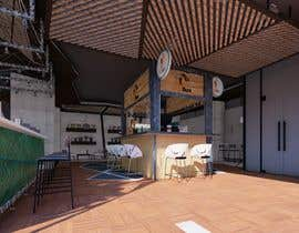 #3 for Design and render a small food space for a mall. af mohammedsarwaa