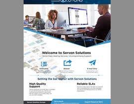 Nro 21 kilpailuun Flyer for servon solutions käyttäjältä jhess31