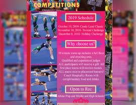 #62 for Cheerleading Event Flyer '19 af sheikhabulhasan0