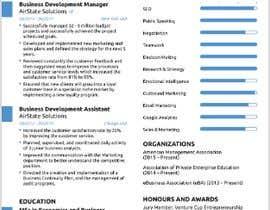 #3 para Creative design for resume por Hisam7959