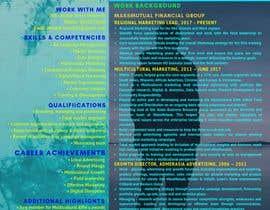 #17 para Creative design for resume por bewto