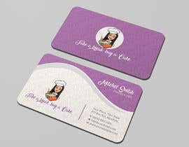 #23 for Create a business card and slogan for my online bakery business. by shahnazakter