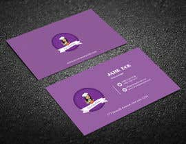#268 for Create a business card and slogan for my online bakery business. by Jannatulferdous8