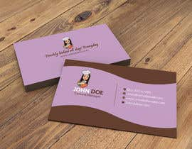 #270 for Create a business card and slogan for my online bakery business. by DesignerBMR
