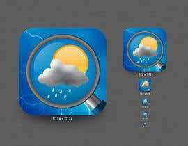 nº 19 pour Design Icons for an IOS Weather App par xsodia