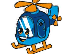 #95 for Helicopter cartoon icon af GribertJvargas