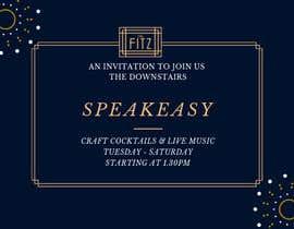 #34 for Speakeasy Invitation af sorwarahmed99