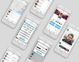 nº 37 pour Design a Index Page for a Group Messenger App par alfonsoverlezza