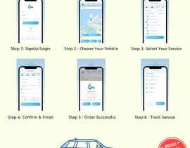 #20 for Building high professional poster for car wash mobile application by kartikeym1212