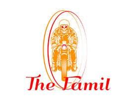 "AhamedSani tarafından A logo designed for clothing brand called ""The Family"". Is a motorcycle themed brand. için no 6"