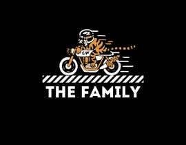 "azzarhm tarafından A logo designed for clothing brand called ""The Family"". Is a motorcycle themed brand. için no 10"