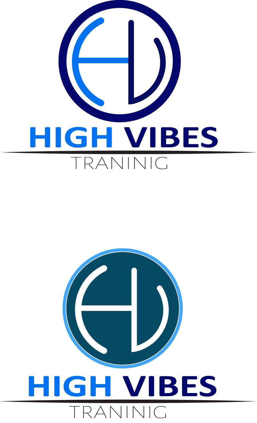 "Entry #20 by payel66332211 for Logo ""High Vibes Training"
