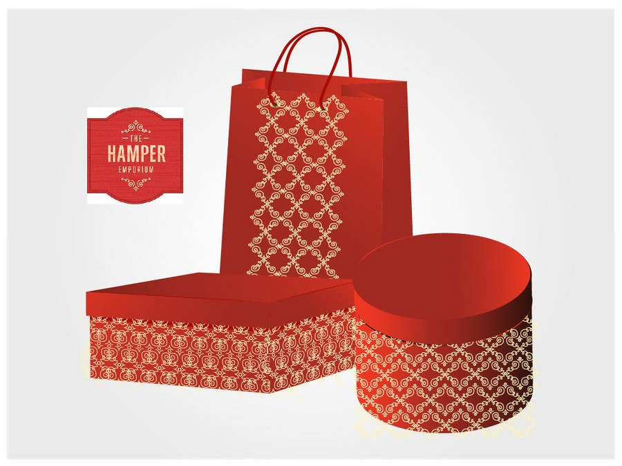 Participación en el concurso Nro.54 para Print & Packaging Design for The Hamper Emporium - http://thehamperemporium.neto.com.au