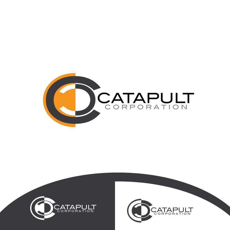 Kilpailutyö #                                        100                                      kilpailussa                                         Logo Design for 'Catapult Corporation'