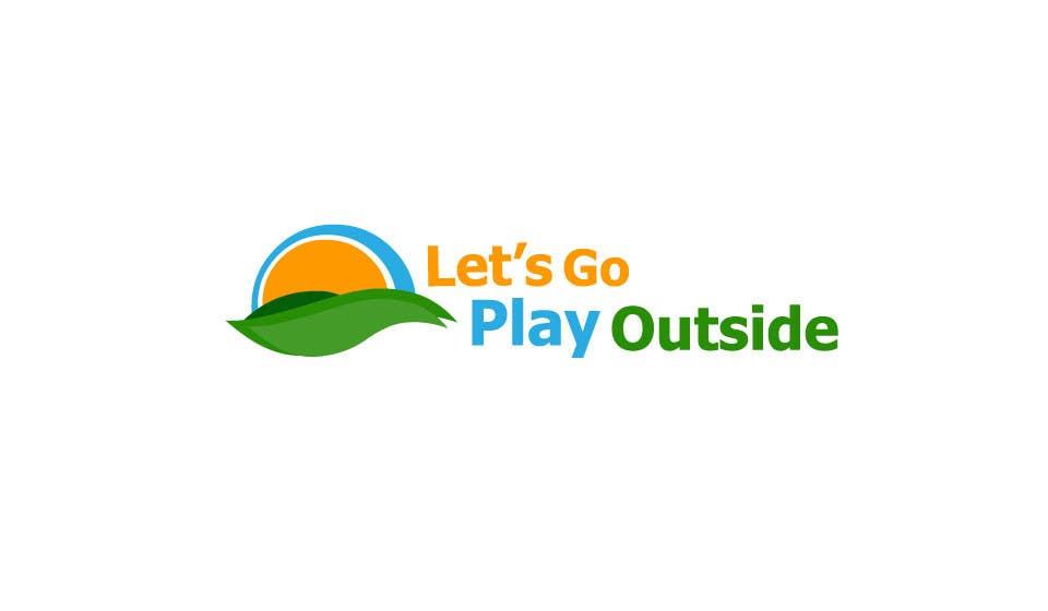 Kilpailutyö #99 kilpailussa Logo Design for Let's Go Play Outside