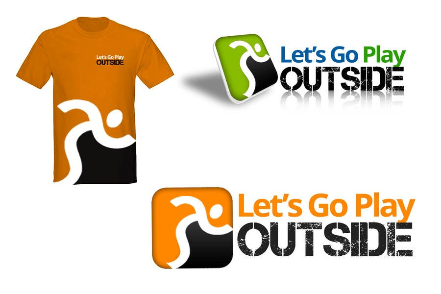 #286 for Logo Design for Let's Go Play Outside by zetabyte