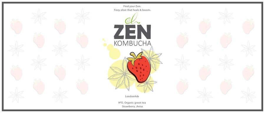Bài tham dự cuộc thi #75 cho Logo & package design: kombucha brand