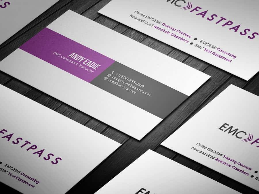 Proposition n°355 du concours Business card design