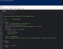 #2 for Write a Python code for three different tasks by Nacho1993