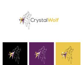 #122 untuk Design a Crystal Wolf Logo for new Crystal Inspired Business oleh fourtunedesign