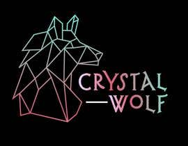 #157 untuk Design a Crystal Wolf Logo for new Crystal Inspired Business oleh CosmicOwl95
