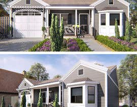 #24 cho 3D Renderings House Front Elevation bởi faisolfuady