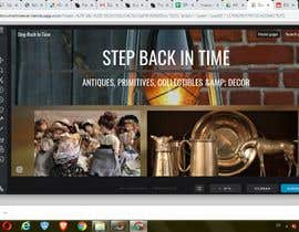#24 for Home Page Mockup For Antique Store Website by antoniarovayo01