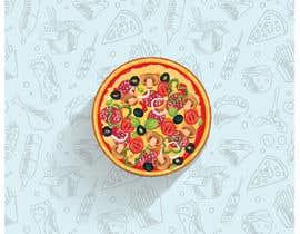 #15 для Military target pizza logo от baaz22