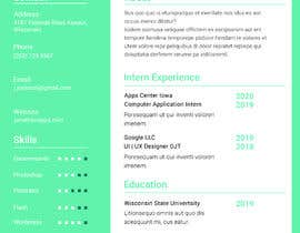 #13 for Update my Resume Design by goyaniakash007