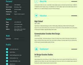 #59 for Update my Resume Design by rakibhero969