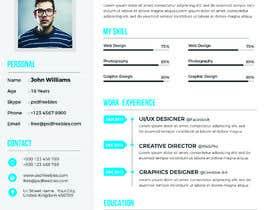 #60 for Update my Resume Design by rakibhero969
